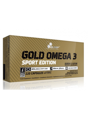 OLIMP Gold Omega 3 Sport Edition 120cap