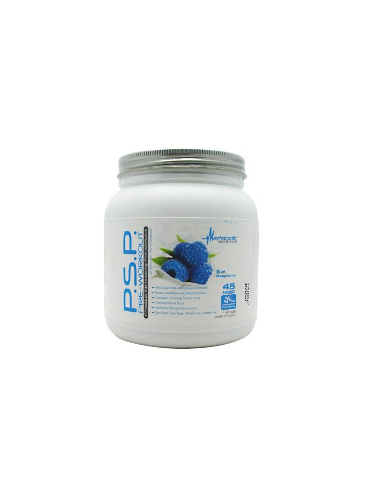 METABOLIC NUTRITION P.S.P. Pre-Workout 720g