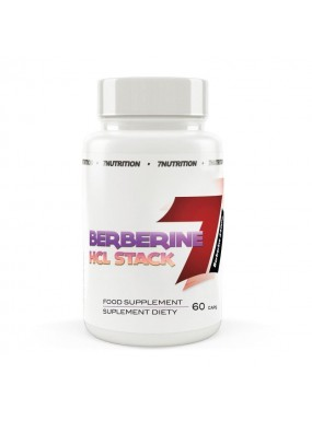 7NUTRITION Berberine HCL Stack 60cap