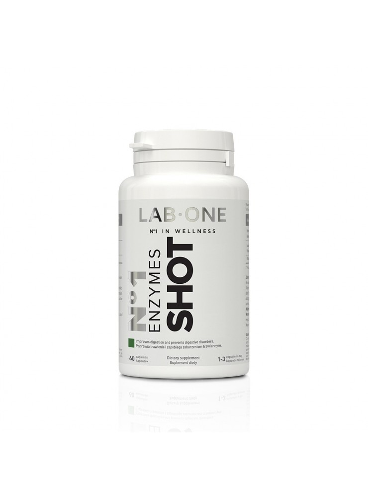 LAB ONE Enzymes SHOT 60cap