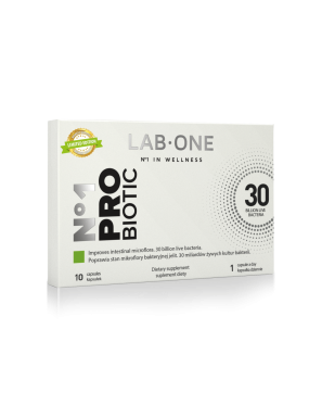 LAB ONE ProBiotic No.1 10cap