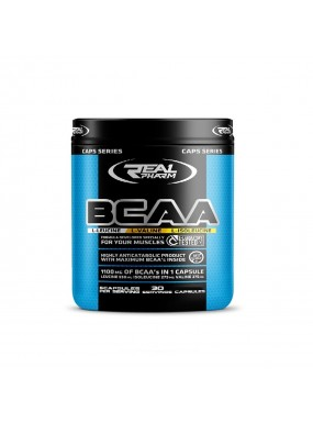 REAL PHARM BCAA 150cap