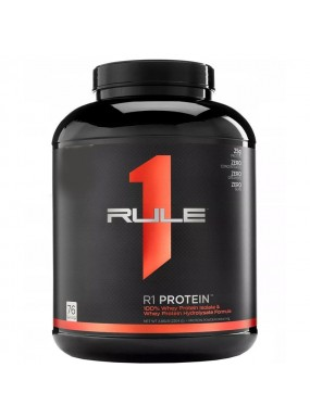 RULE1 R1 Protein Isolate+Hydrolysate 5lb 2204g
