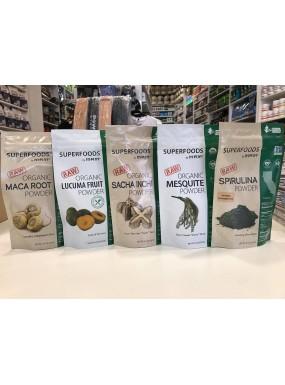 MRM Superfoods: Sacha Inchi, Maca Root, Lucuma, Mesquite, Spirulina MEGA WYPRZEDAŻ!!! Dowolne 2 produkty w cenie 39zł!