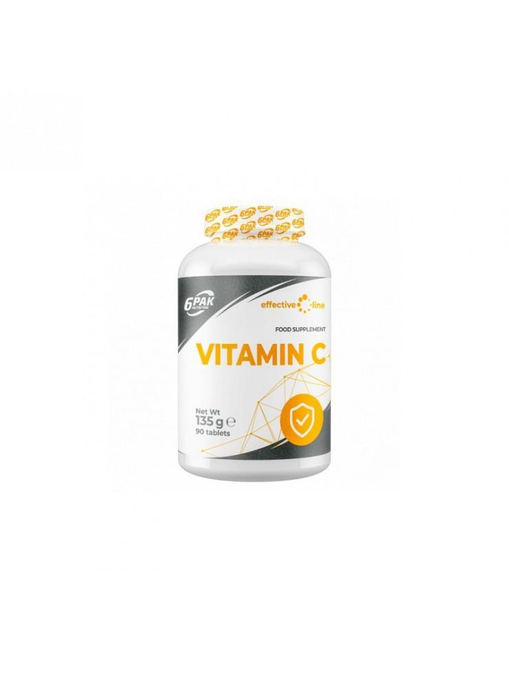 6PAK Vitamin C 90tab