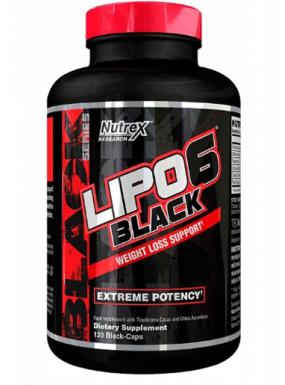 NUTREX Lipo-6 Black 120cap...