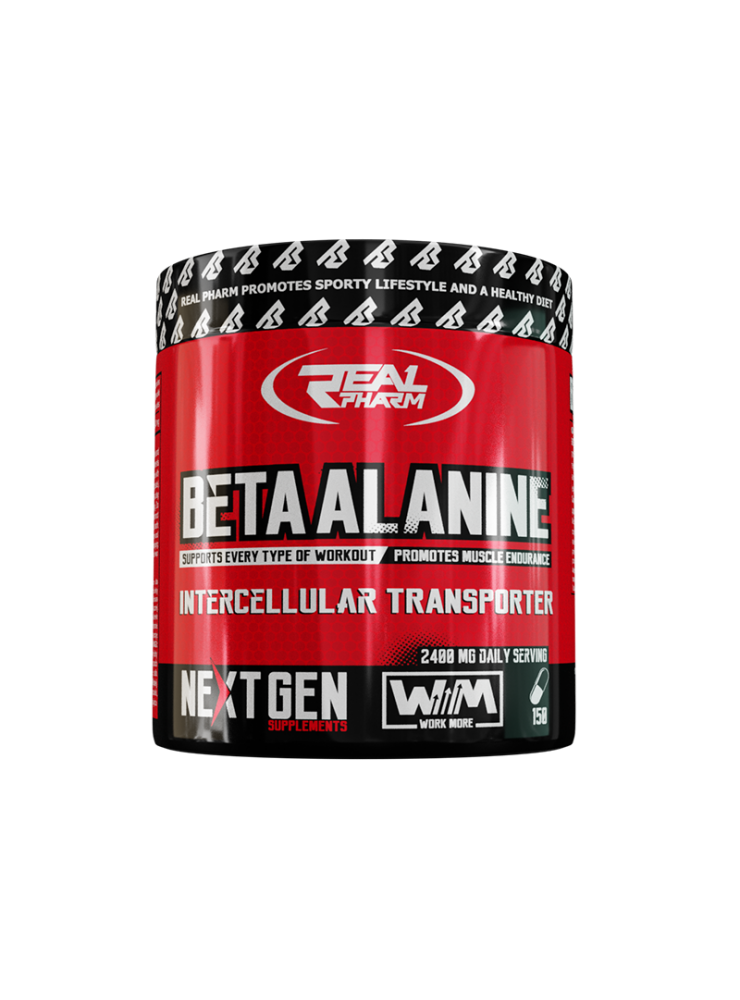 REAL PHARM Beta-Alanine 150cap